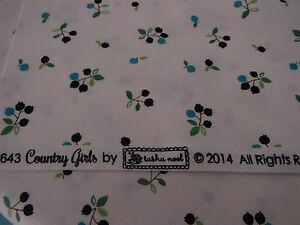COUNTRY-GIRLS-BLUEBERRIES-ON-WHITE-FAT-1-4-BY-TASHA-NOEL-RILEY-BLAKE-FABRICS