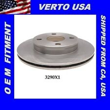 Verto USA  Disc Brake Rotor- Front fit Toyota Paseo , Tercel   3290X1