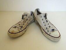Converse All Star Chucks Sneaker Turnschuhe Slim Low Stoff Weiß Gr. 6 / 37,5