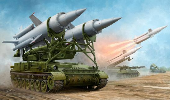 Trumpeter 1 35 Sowjet 2k11a Tel With 9m8m Rakete Zoll Krug-A (Sa-4 Ganef )    Online Outlet Shop