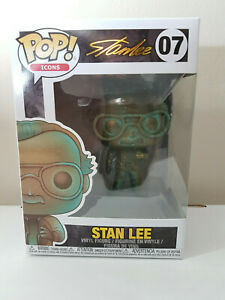 Funko POP: Stan Lee Patina Brand New In Box With Protector