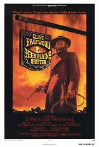 034-HIGH-PLAINS-DRIFTER-034-Movie-Poster-Licensed-NEW-USA-27x40-034-Theater-Size-1973