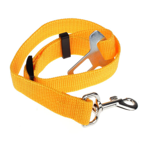 New Vehicle Car Seat Belt Seatbelt Harness Lead Clip Pet Cat Dog Safety Belt