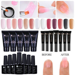 Edificio-rapido-Esmalte-Gel-UV-Poly-Constructor-Unas-Nail-Art-Extension-Kits-De-Acrilico