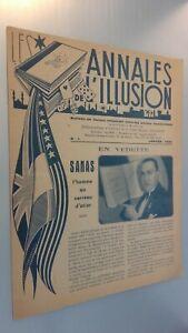 Revista Las Anales ILUSIÓN Dibujada N º 1 Janvier 1945