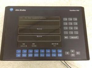 Allen-Bradley-PanelView-1000-2711-K10G1-Ser-D-Rev-D-FRN-4-46-2711K10G1