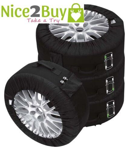 passe Für Saab Reifentaschen-Set Premium schwarz Reifentaschenset Premium 4-tlg