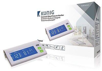 Smart Health Bluetooth Oberarm Blutdruckmessgerät Blutdruck Messgerät Smartphone