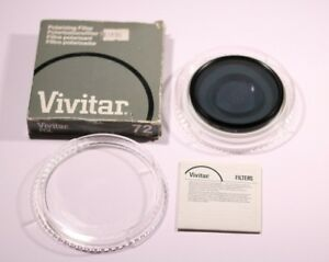 VIVITAR-72-mm-filtre-polarisant-Made-in-Japon-0226459