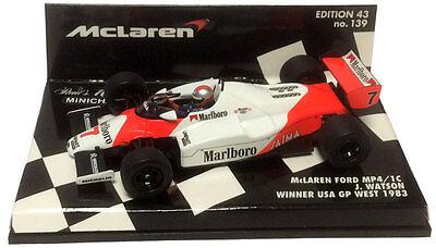 Minichamps 1:43 McLAREN FORD MP4-1C J.WATSON 1983