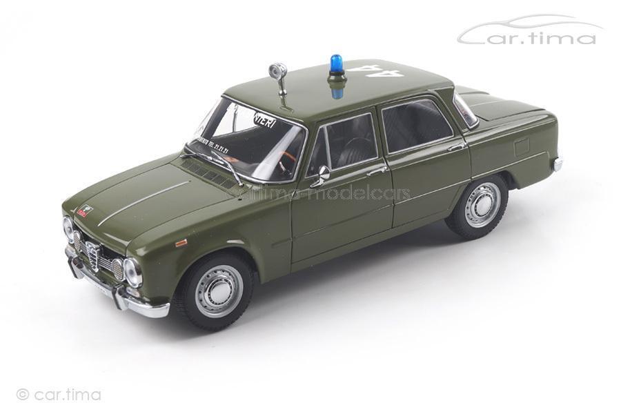 Alfa Romeo Giulia Super 1600 (1970) - carabiniers - 1 of 500-MINICHAMPS - 1 18