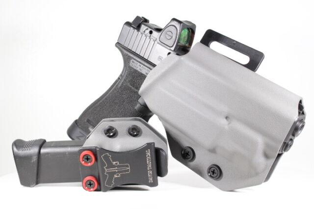Davis Tactical OWB Kydex Holster For Glock 17/22/31 Inforce APLC