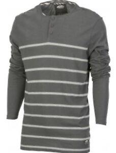 ff24934a894928 VANS New Mens Classic Long Sleeve Raglan T-Shirt Top Creme or Grey ...