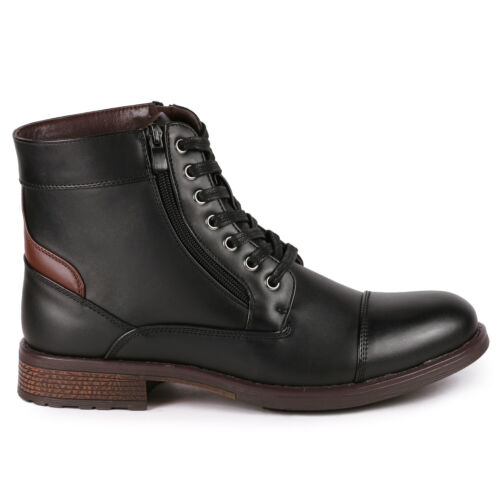 Black Men/'s Lace Up Cap Toe Formal Dress Casual Fashion Oxford Boot