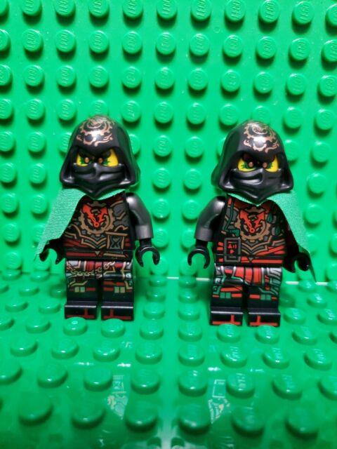 Lego Ninjago Dawn of Iron Doom Time Twins Acronix /& Krux 70626 Minifigures