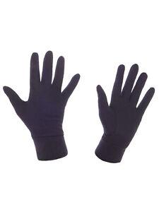 Level Herren Handschuh Merino schwarz atmungsaktiv elastisch leicht Unifarben