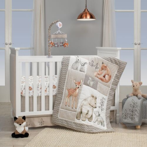 Lambs /& Ivy Painted Forest Baby Nursery Crib Bedding CHOOSE FROM 4 5 6 PC Set