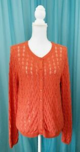 Anthropologie-Sparrow-Sweater-in-Orange-Size-Large-Pre-Owned
