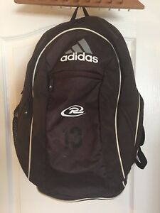 ADIDAS CLIMACOOL Fresh PAK Backpack Load Spring Bag Black and White ... fa632d5e9a