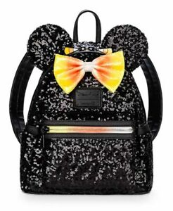 Disney-Parks-Halloween-Minnie-Mouse-Candy-Corn-Mini-Loungefly-Backpack-NWT