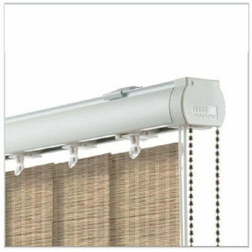 PVC imperméable-Diva VANITY beige faite sur mesure Vertical Blind-Blackout