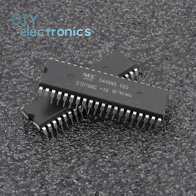 DIP-40 1 x D70116C-8 D70116C 16-Bit Microprocesseur NEC Encapsulation