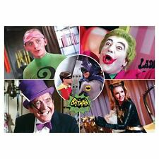 Batman Classic 1966 TV Series The Rogues Mighty Print  Wall Art 24 x 17 NEW!!!!