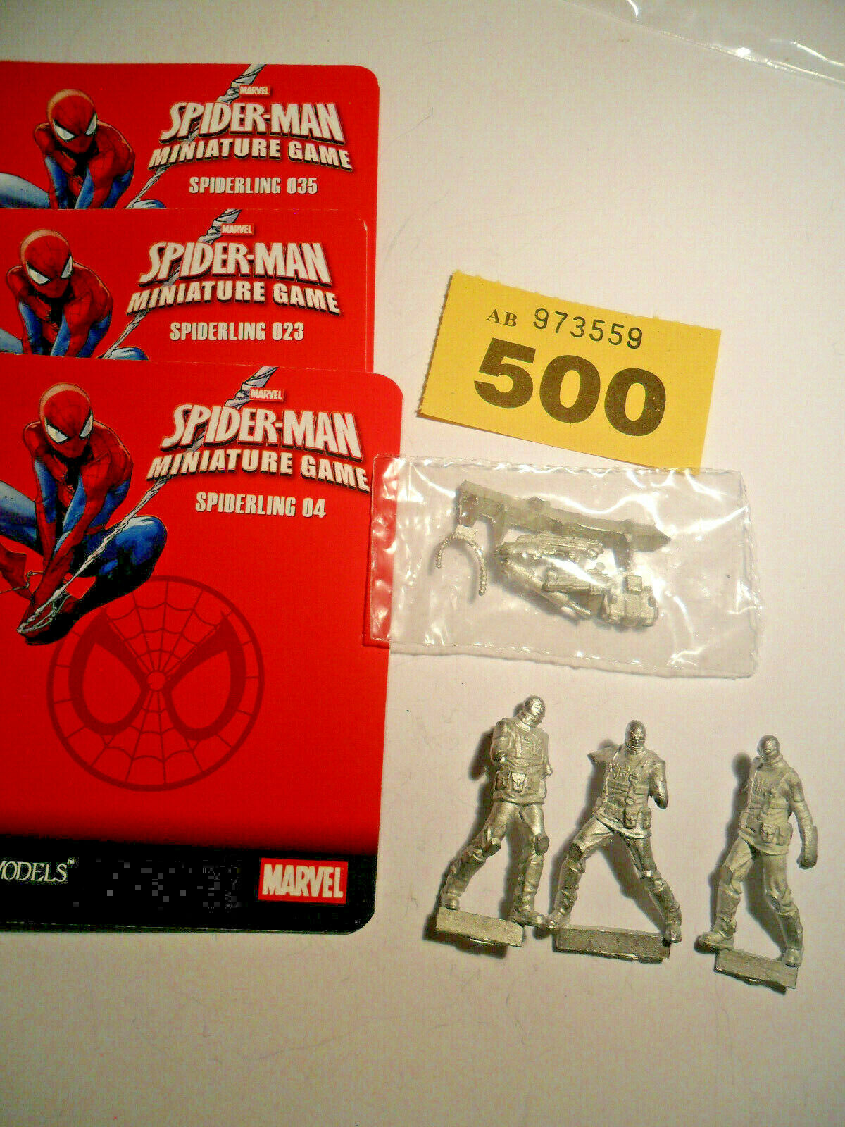 Knight Models Marvel Miniatures Game Spiderling Minions Spiderman foe Y500