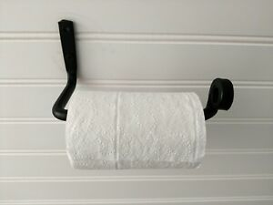 Charmant Details About Amish Forged Wrought Iron Toilet Tissue Paper Holder Bar    Strong U0026 Sturdy Metal