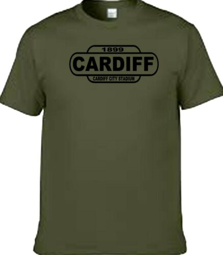Cardiff football t shirt away days rather or train sign t shirt