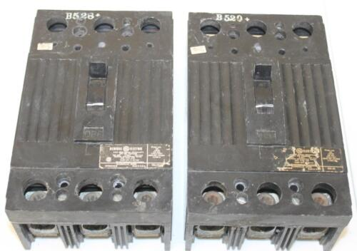 One GE TQD32200 3 Pole 200 Amp 240V Circuit Breaker Tested /& Guarantee 60 Days