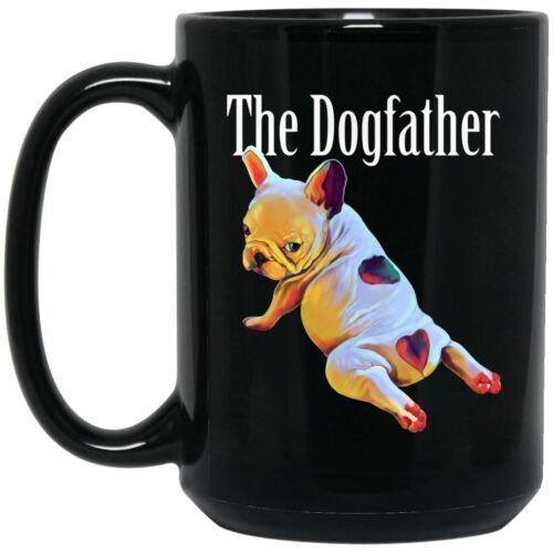 The Dogfather French bulldog Mug