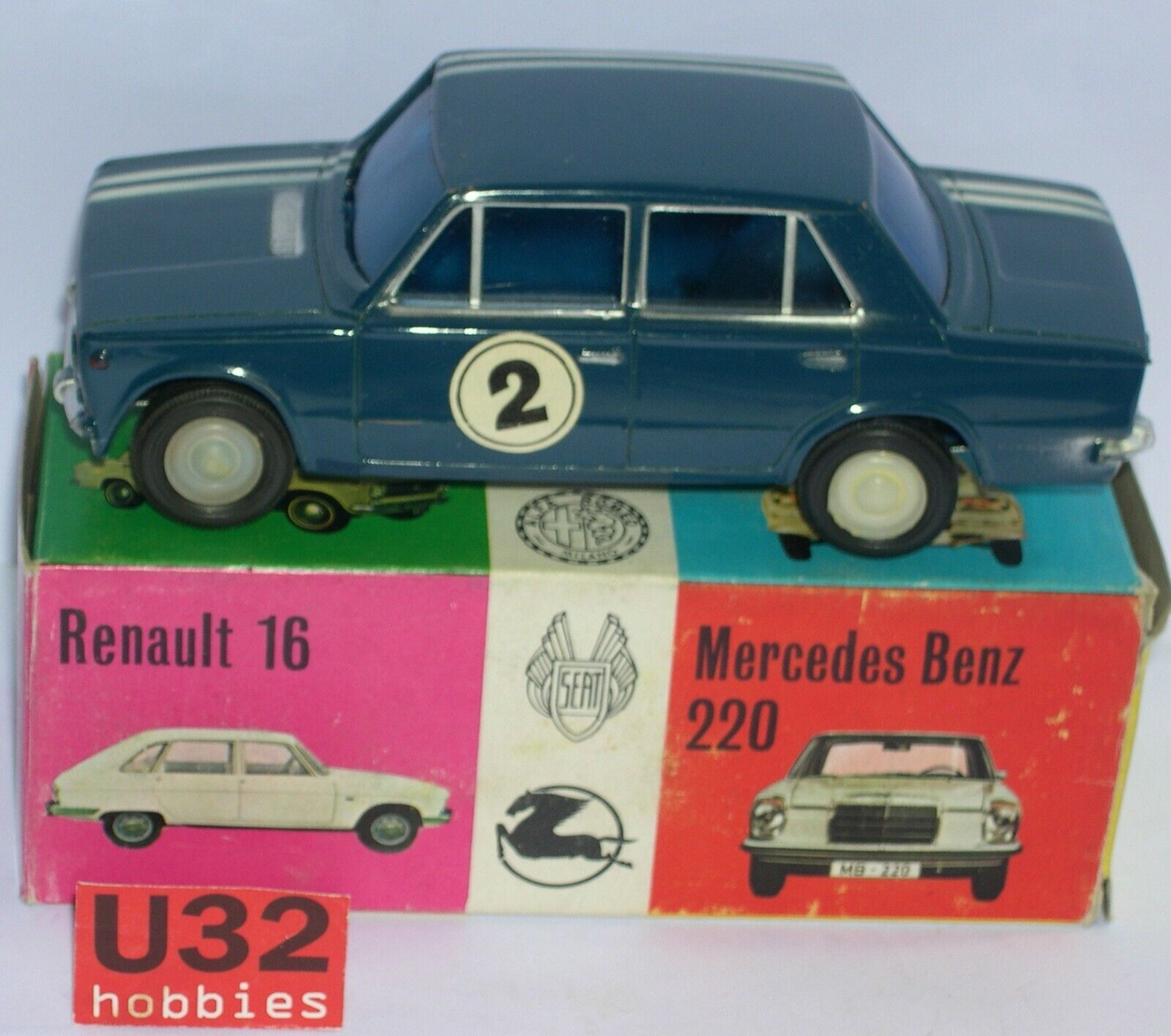 Vercor 419c seat 124 bluee Body and Chassis tin year'60 EXC. Condition