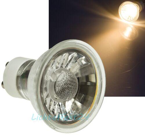 1-/>10er Sets LED Einbaustrahler Lucy 230Volt Downlights 3W Spot mit Warmlicht