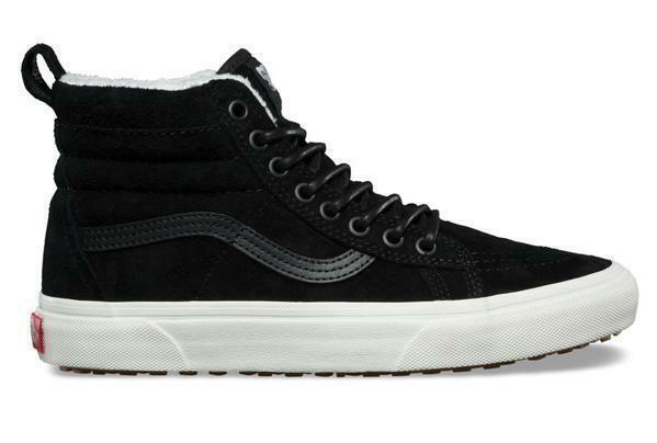 Vans Sk8-Hi Mte Negro para Hombre estilo de vida Clásico Zapatillas soldaduras nuevo VN0A33TXUC2
