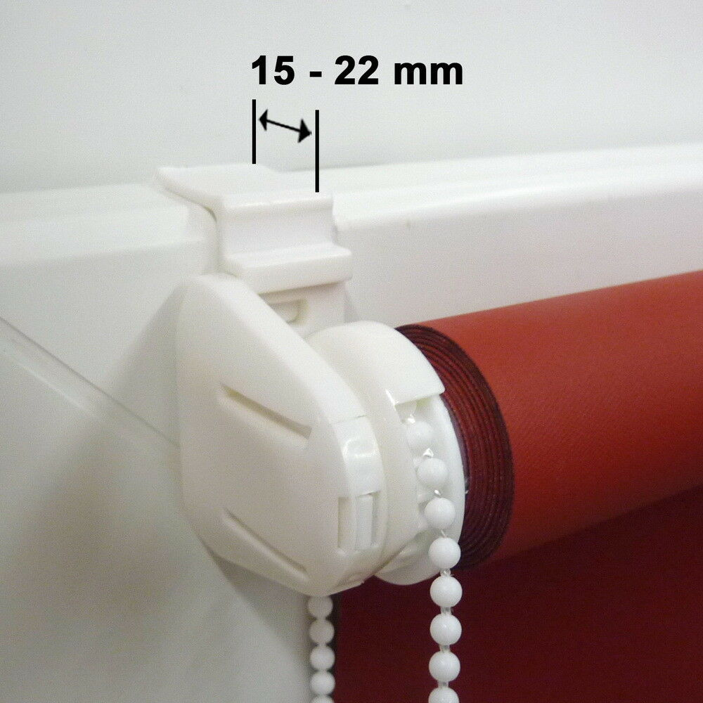 Mini-Rollo Mini-Rollo Mini-Rollo Klemmfix ALU THERMO Klemmrollo Verdunkelung - Höhe 50 cm creme 0efb4a