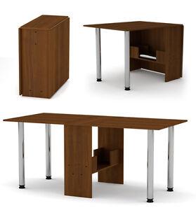 Klapptisch esstisch  Klapptisch Esstisch Tisch klappbar Raumwunder Holztisch NUSS ...