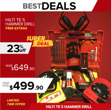Hilti Te 5 Hammer Drill Lk Made In Germany Free Extras Strong Fast Ship