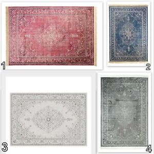 Tapiso-Classical-Rug-Traditional-Vintage-Design-Quality-Faded-Rosette-Carpet