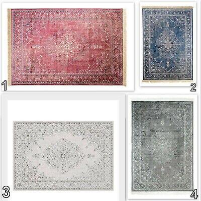 Traditional Area Rug TAPISO Vintage Style New Elegant Rosette Classical Carpet