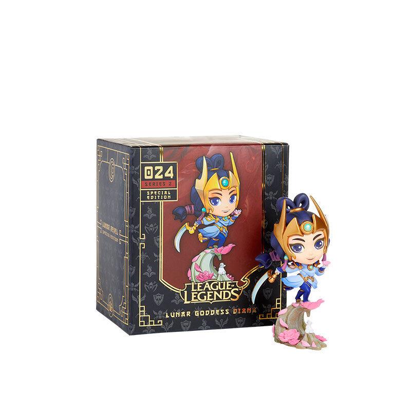 Liga der legenden diana begrenzte statue lol q version action figure collection