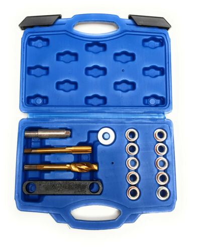 VW Groupe Frein Étrier Réparation Filetage Kit M12 X 1.5mm Re-Threads Bolt Trou
