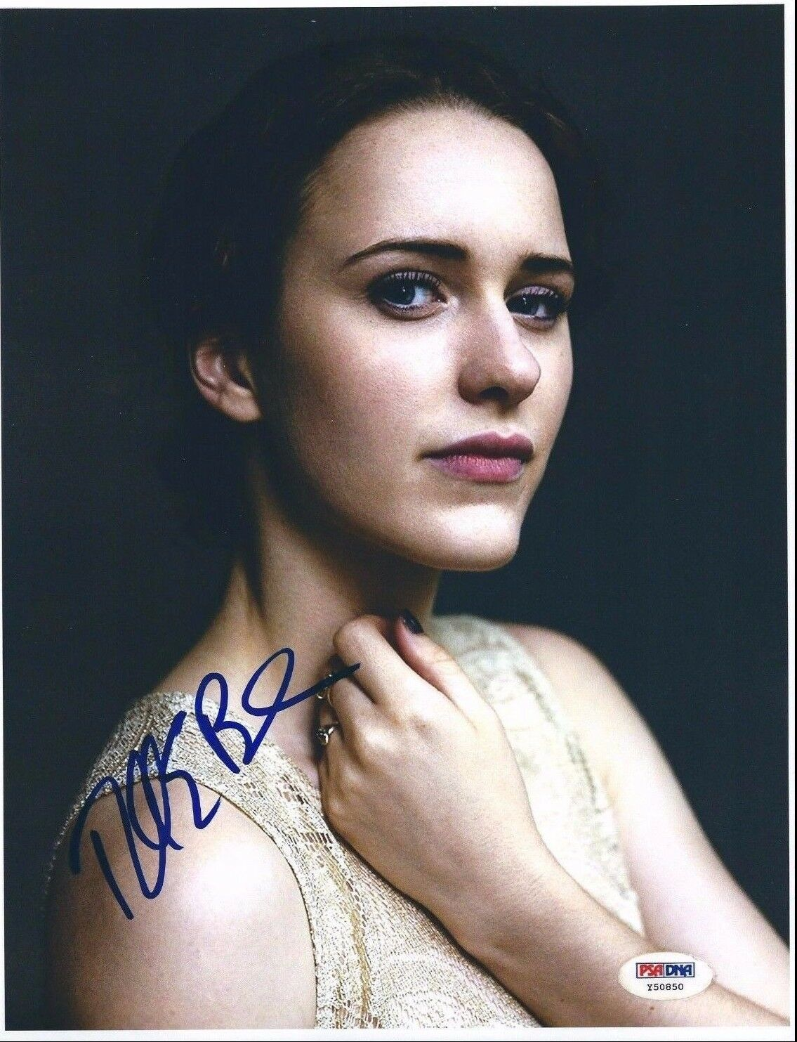 Rachel Brosnahan Signed 8.5x11 Photo *House Of Cards PSA Y50850
