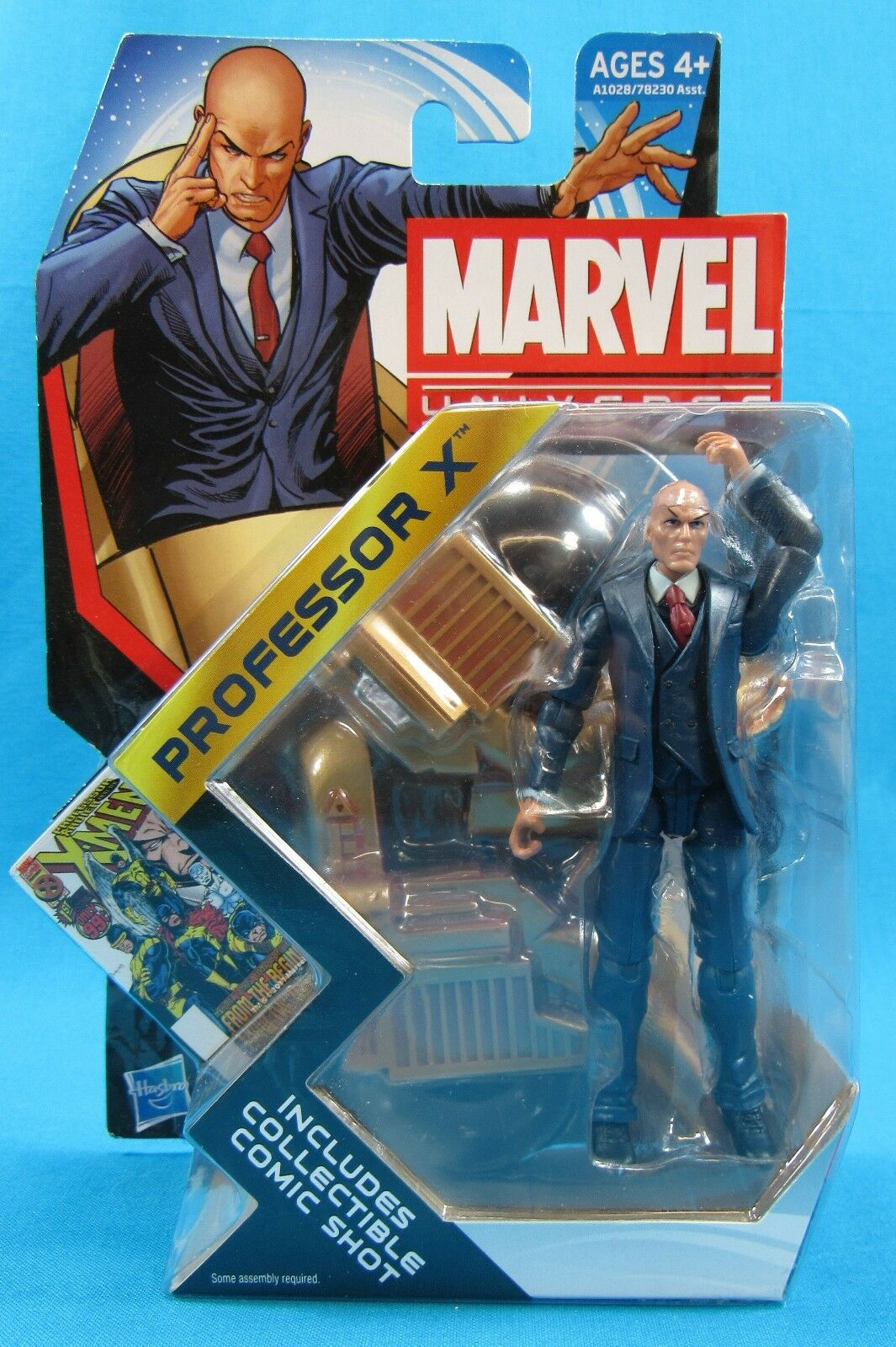 Marvel Universe Series 4 Professor X Hasbro 2012 New on Card