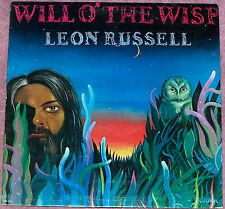 Leon Russel Will O' The Wisp LP Record1974 Shelter SR 2138