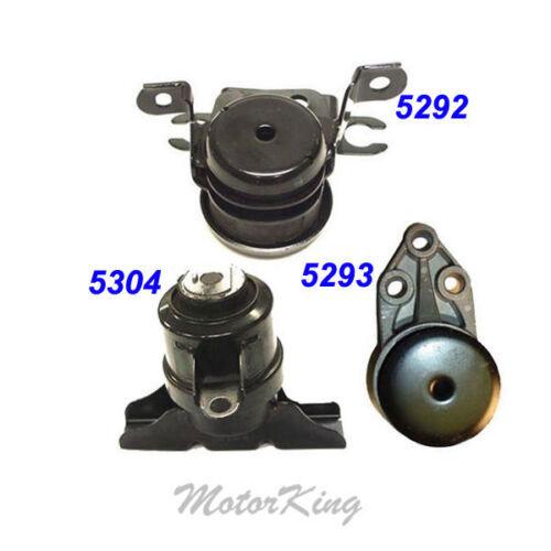 Mount Set 3PCS M324 2001-2004 For Mazda Tribute 2.0//3.0L Engine Motor /& Trans