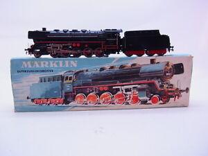 Lot-68413-Marklin-H0-3027-Steam-Locomotive-with-Tender-Br-44-Telex-Boxed