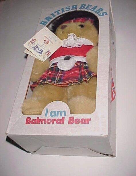 British Bears I Am Balmoral Bear Sweet Dreams Handcrafted Britain 13  New in Box