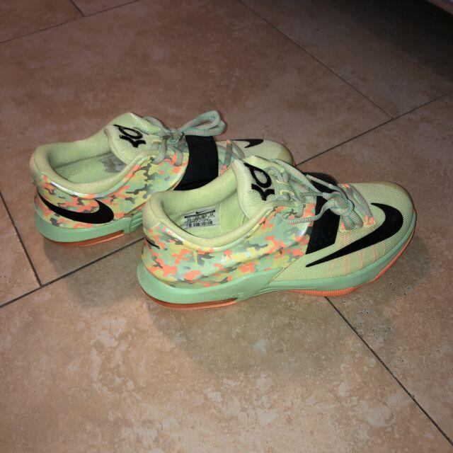 Nike KD VII 7 Easter Liquid Lime Green