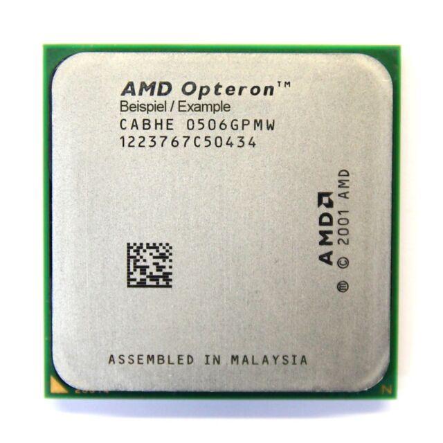 AMD Opteron 1218 He OSO1218IAA6CZ 2.6GHz/2MB Socket/Socket 940 Dual CPU Server